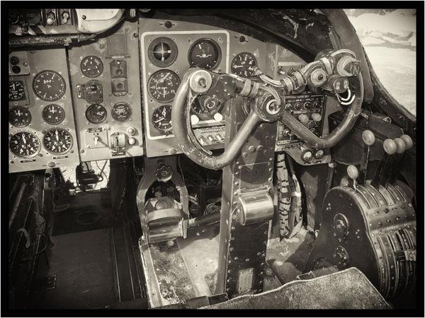 The Shackleton cockpit