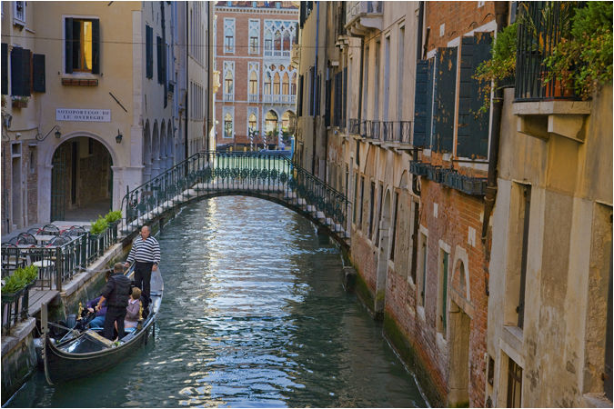 Canals and Colours of Venice