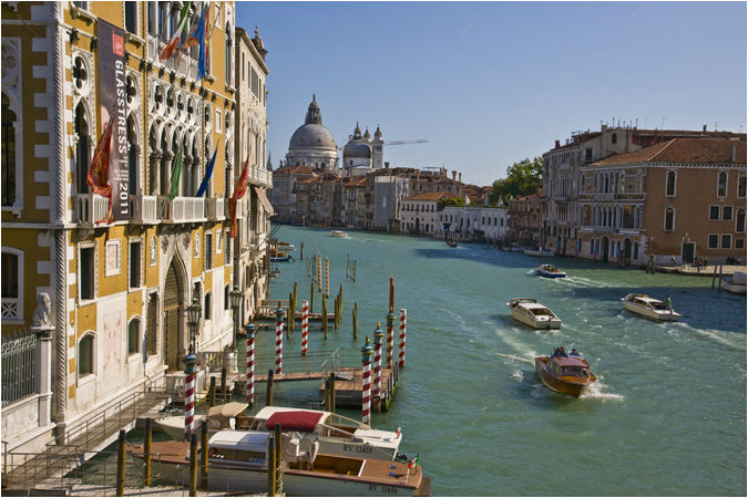 Grand Canal in autumn
