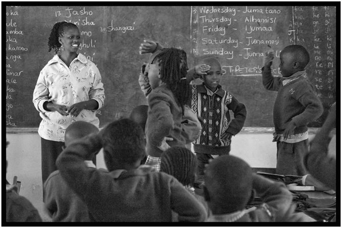 Teaching in Africa