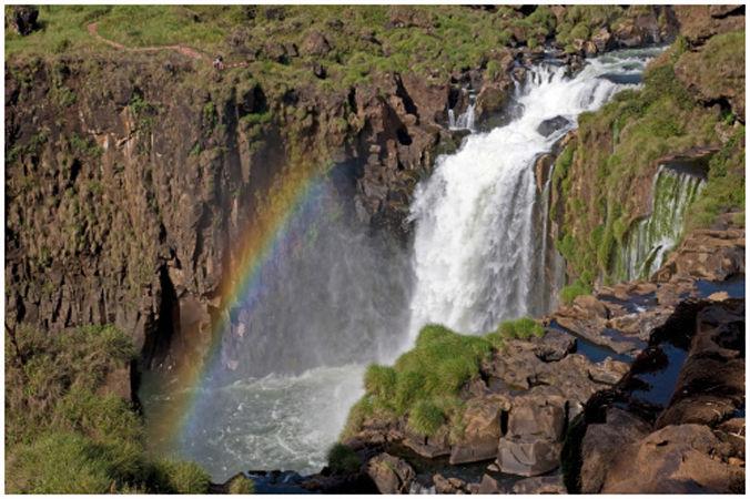 Rainbow in Argentina