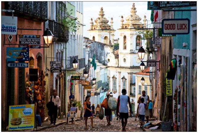 Street scene in Salvador