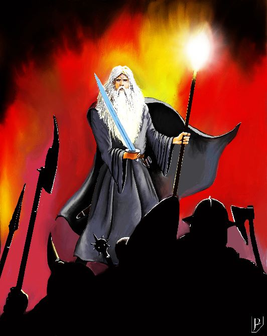 Gandalf with Goblin-cleaver