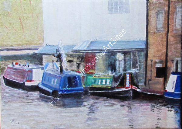 Canal Boats, Skipton