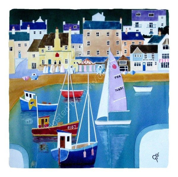 Buildings and Boats, Lyme Regis