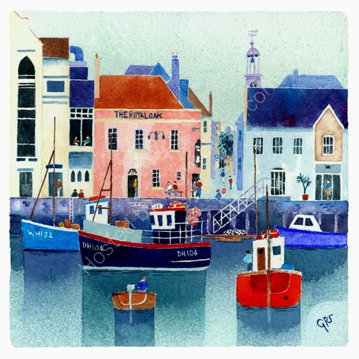 Busy Harbour, Weymouth