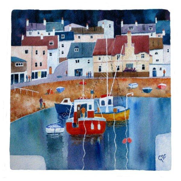 Down by the Shore, Lyme Regis