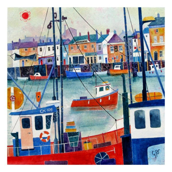 Red Sun Over Weymouth