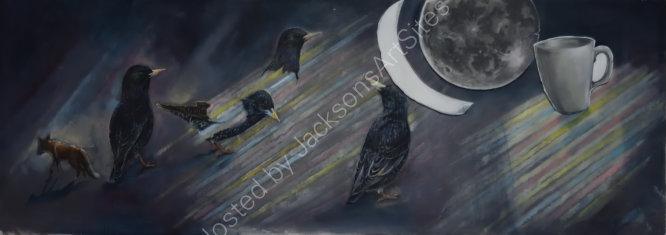 Last night I dreamt of starlings
