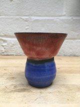 Raku bud Vase A14
