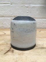 Raku bud Vase A21