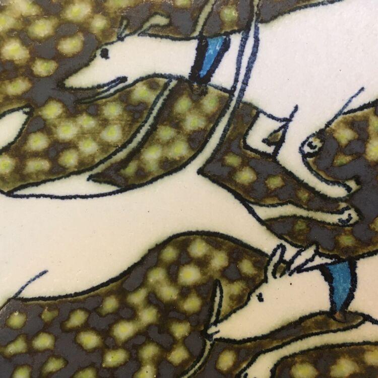 Longdogs in the daisies II