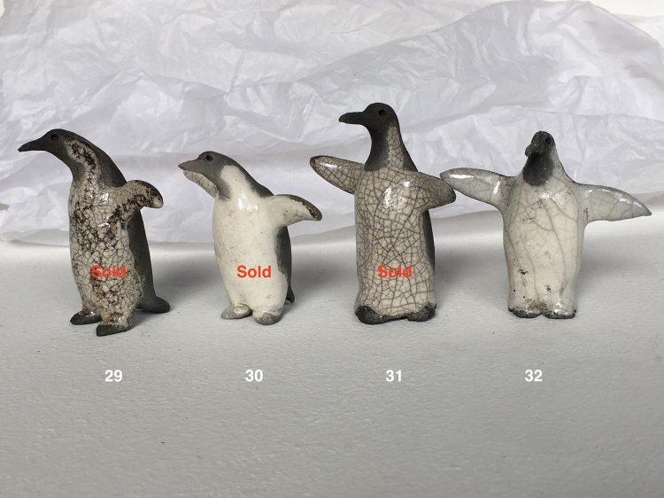 Penguins 29, 30, 31 & 32