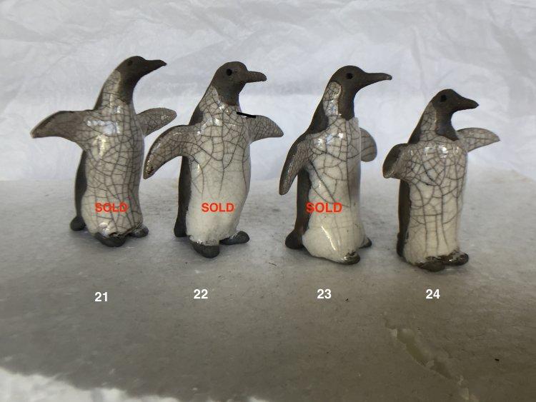 Penguins 21, 22, 23 & 24