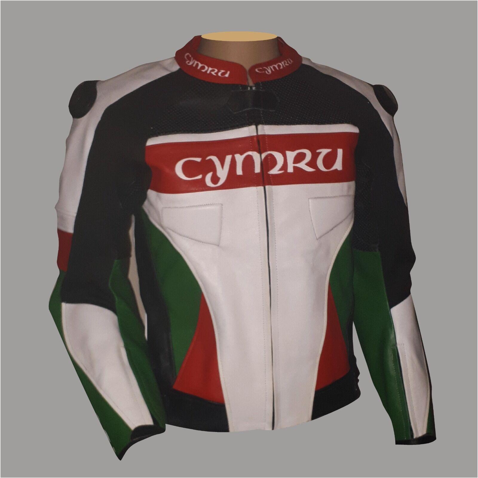 Custom Cymru Leather Jacket