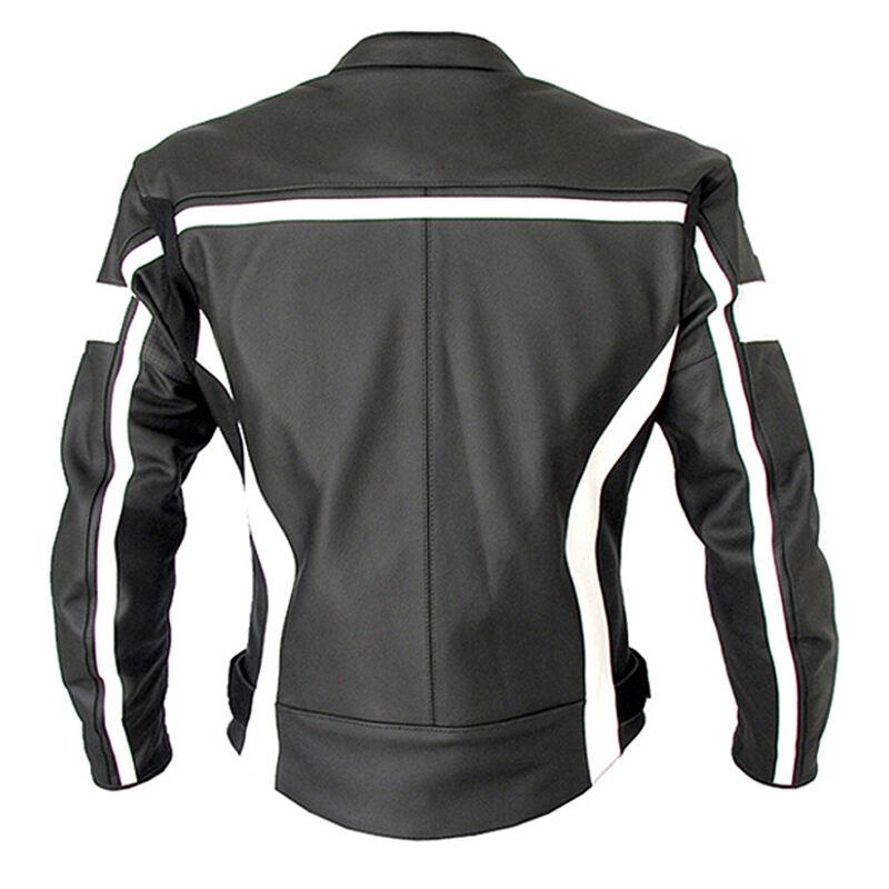 Black & White Leather Jacket