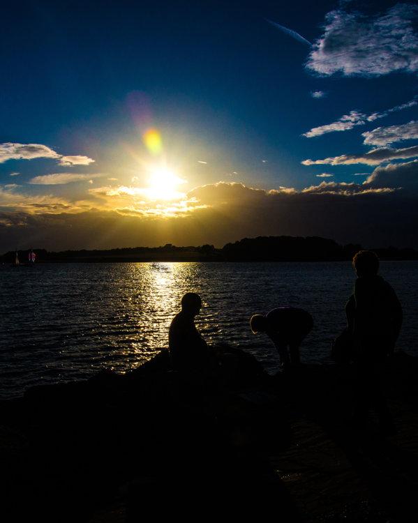 Twilight at Normanton