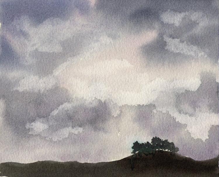 Sky Study #034