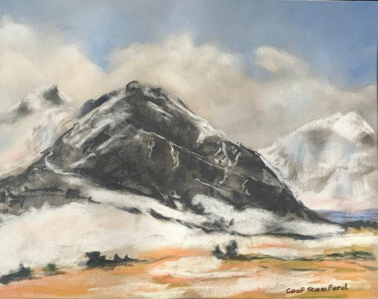 Tryfan, Early Snow