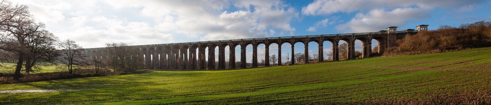 The Ouse Valley (Balcombe) Viaduct.