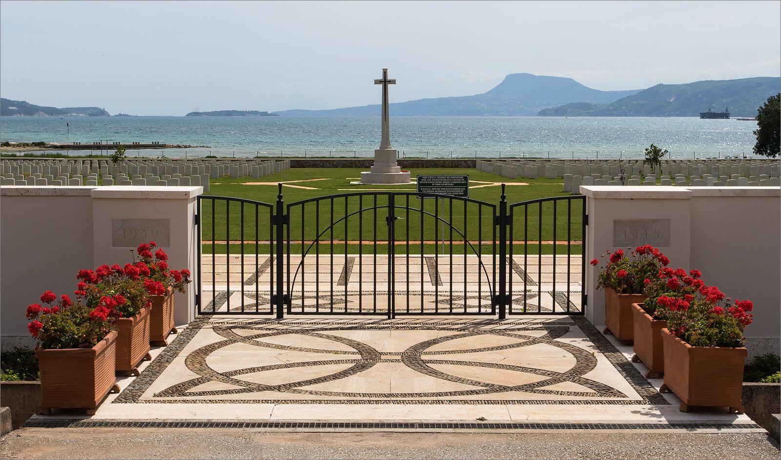 Souda Bay War Cemetery, a CWGC site.