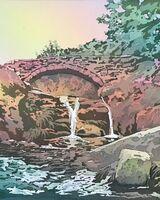 Three Counties Waterfall