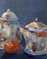 Ginger Jar & Teapot