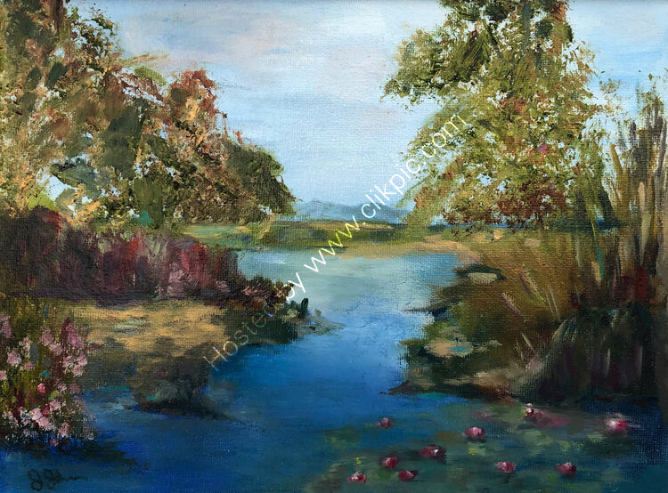 Landscape with Lillies