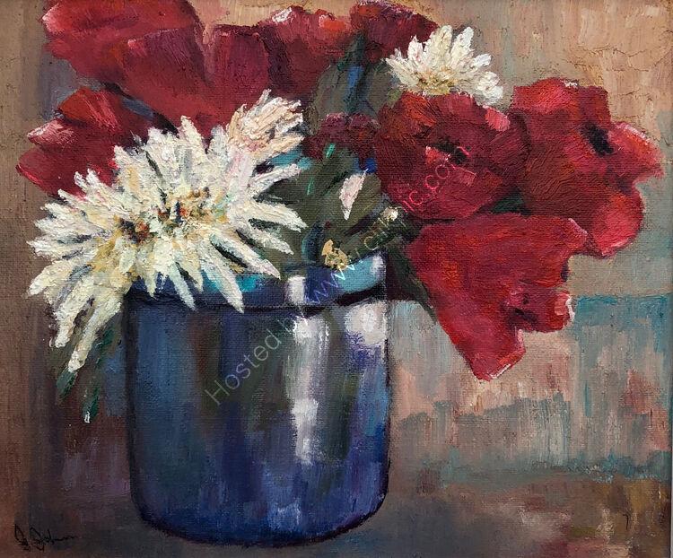 Tulips & Chrysanthemums