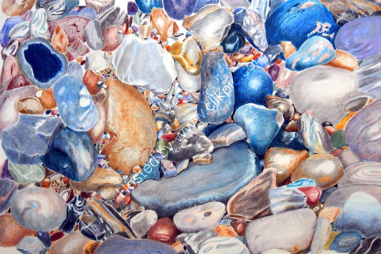 Pebbles at Salthouse