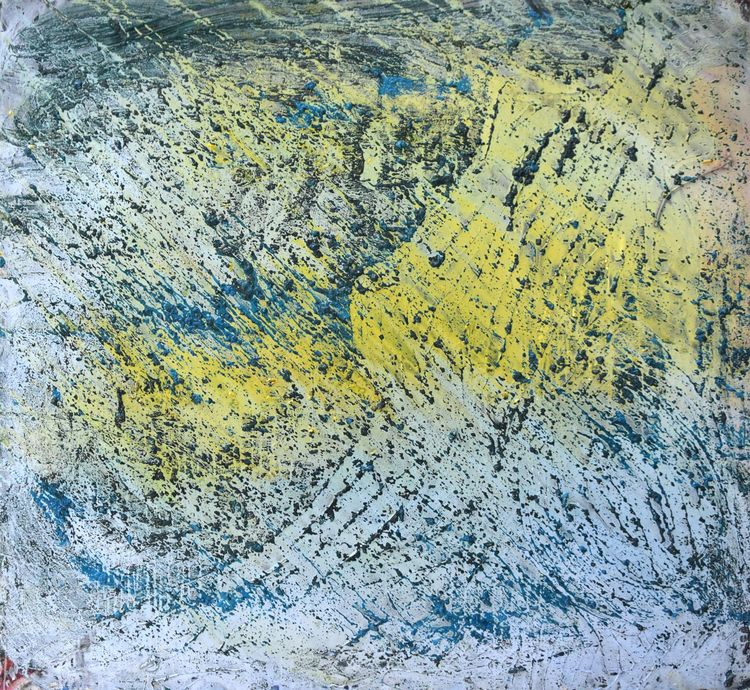 weather mix media on canvas 120cm approx 01 07