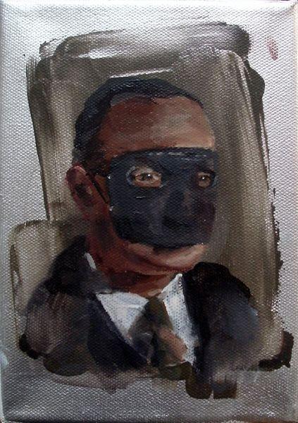 Mask Man Small