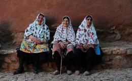 """Abiyaneh, """"the red village'. Iran"""