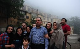 A family outing to Masouleh village, Iran