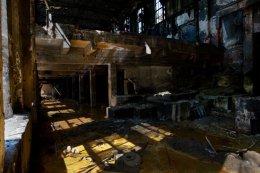 Deserted factory, Romania 2015