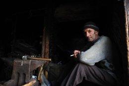 Blacksmith, Maramures, Romania