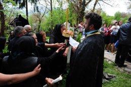 Mass in commemoration of deceased family, Maramures, Romania