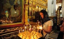Russian-Orthodox church, Almaty