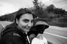 Roma family, Romania 2015