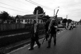 Funeral procession, Romania 2015