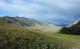 En route to Lake Son-Kol at 3000 m, Kgz