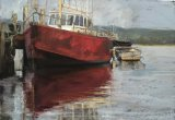 Red Boat - Strahan Tas - SOLD
