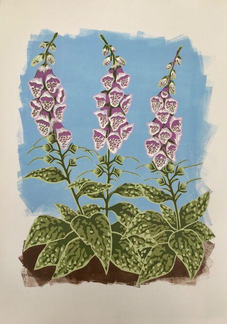 Do you suppose she's a wildflower? (Blue sky)