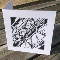 Saxophone detail card