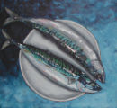 Two Mackerel  (SOLD)