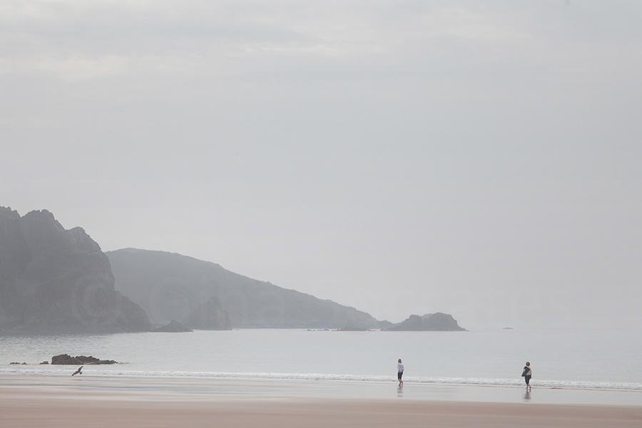 Misty Days On the Beach 08 - St. Brelade's Bay