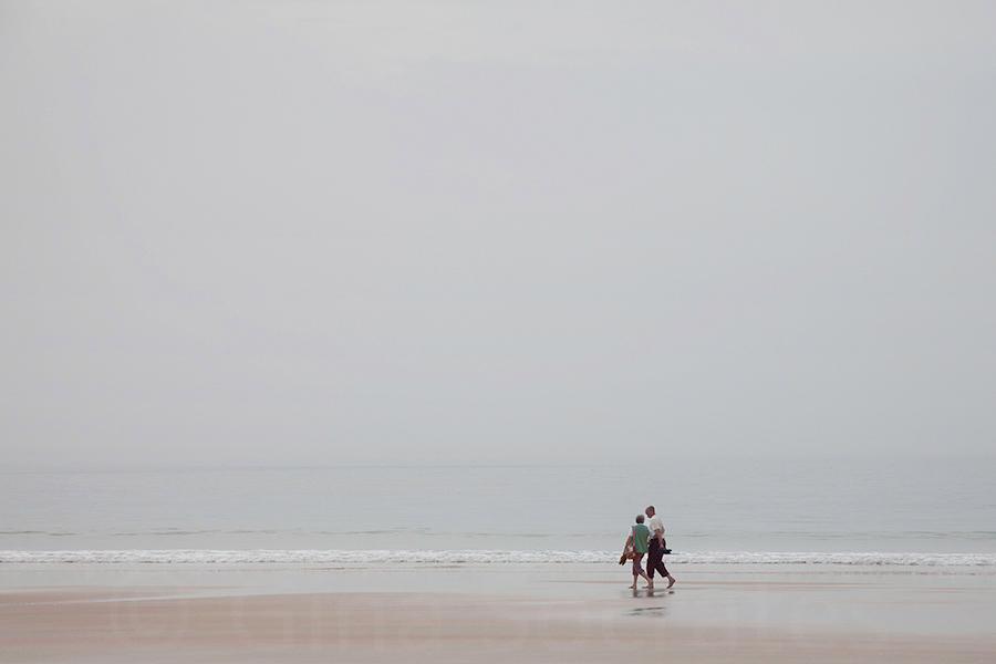 Misty Days On the Beach 10  - St. Brelade's Bay