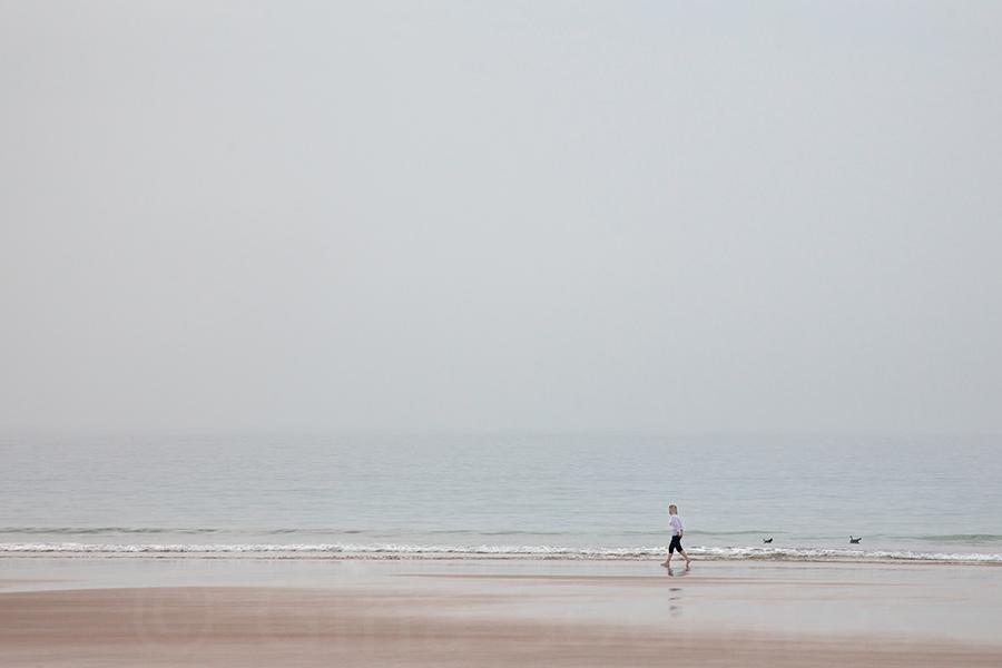 Misty Days On the Beach 09  - St. Brelade's Bay