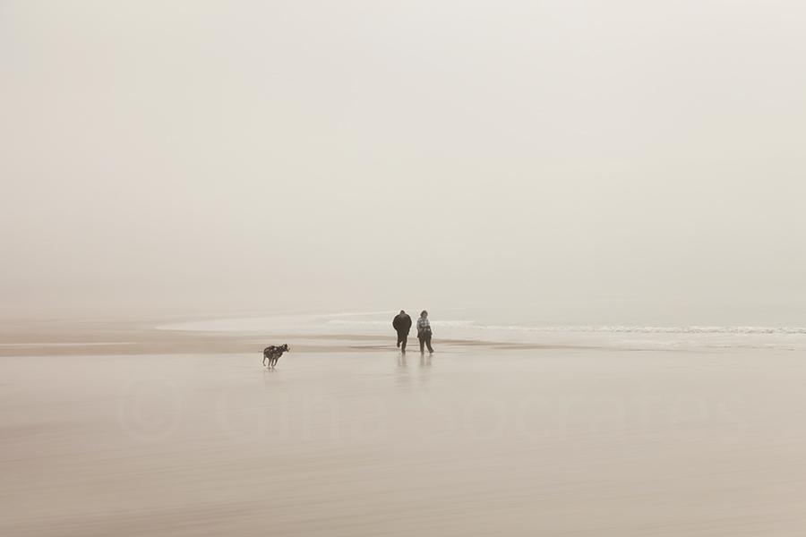Misty Days on the Beach 12 - St. Brelade's Bay