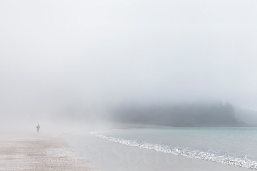 Misty Days On the Beach 18  - St. Brelade's Bay